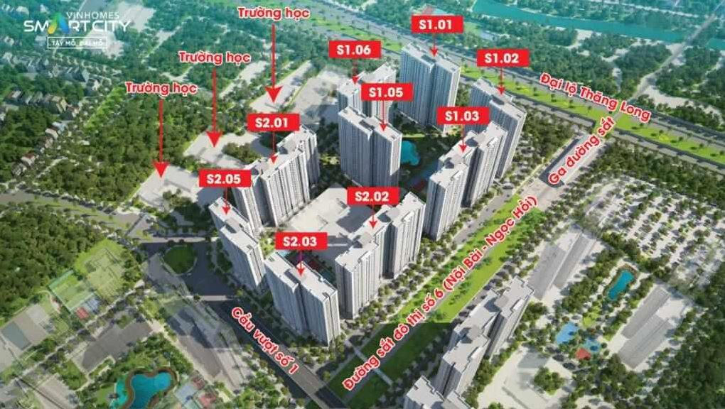 The Sapphire 1 Vinhomes Smart City